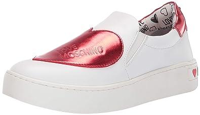 Love Moschino Scarpad.cassetta35, Zapatillas sin Cordones para Mujer: Amazon.es: Zapatos y complementos