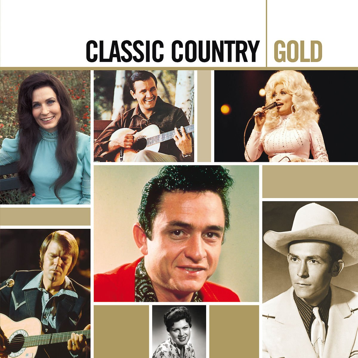 Classic Country Gold [2 CD] by Hip-O