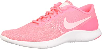 Nike Womens Flex Contact Running Shoes - Sunset Pulse: Amazon.es: Deportes y aire libre