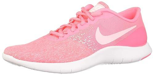 Nike Flex Contact - Zapatillas de Running de Material Sintético para Mujer Rosa Sunset Pulse/Arctic Punch: Amazon.es: Deportes y aire libre
