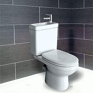 2 in1 combo – Combinación de inodoro y lavabo con lavabo