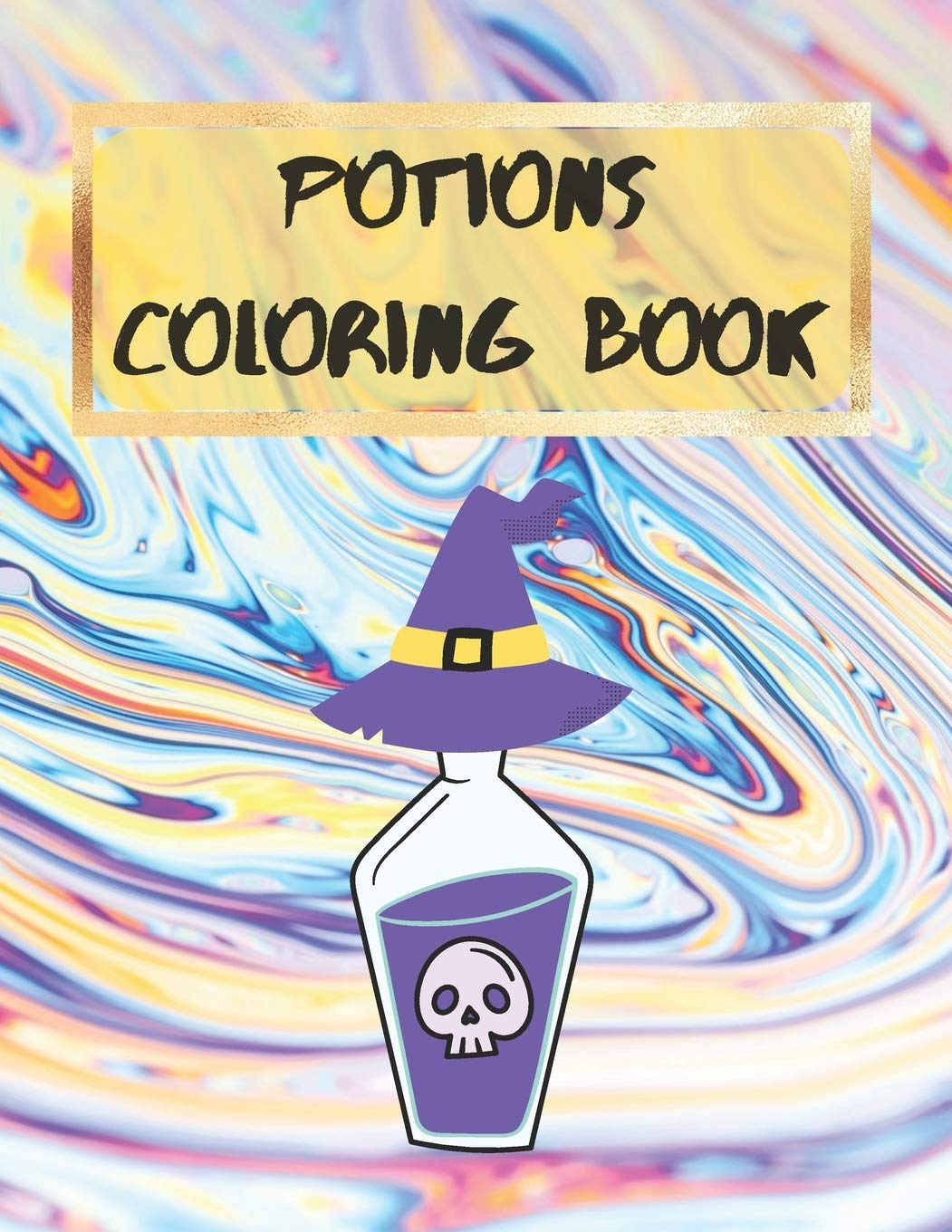 Potions Coloring Book Halloween Coloring Book For Children Easy To Use Coloring Pages For Toddlers And Kids 5 Halloween Activity Books For Kids Amazon Co Uk Stationery Velvet Owl 9798645071547 Books