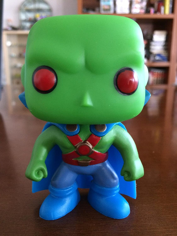 POP! HEROES DC UNIVERSE MARTIAN MANHUNTER 3.75-INCH VINYL FIGURE #18