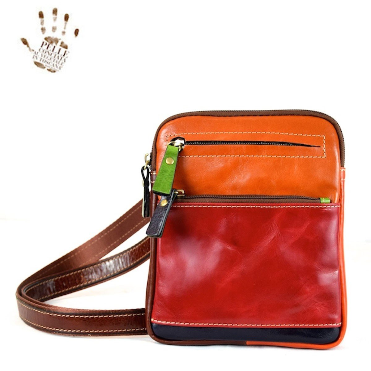 Dream Leather Bags Made in Italy Genuine Leather メンズ 547-13 US サイズ: 1 M US   B07BTGW1X5