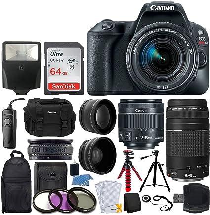 Amazon.com: Canon EOS Rebel SL2 DSLR Camera + EF-S 0.709 ...