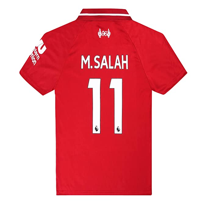 0c35d3e80 Liverpool Home  11 M Salah 18-19 Soccer Jersey Mens Color Red Size S