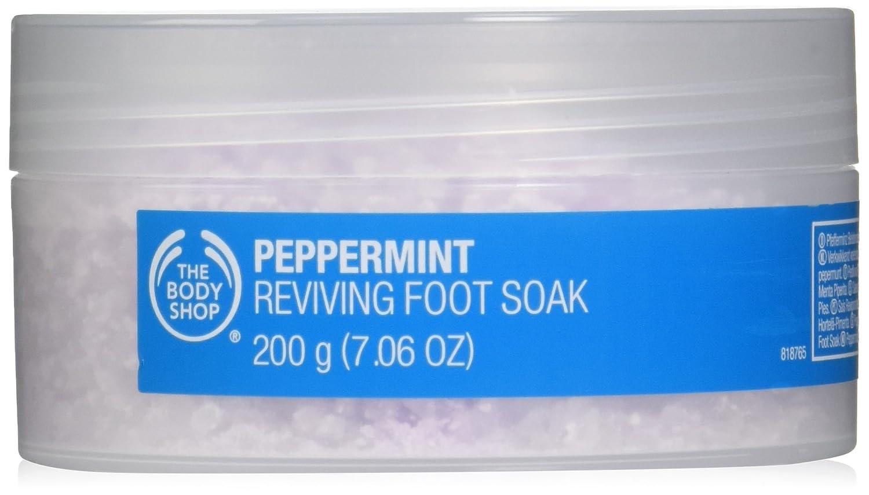 The Body Shop Peppermint Reviving Foot Soak 200ml HealthCenter The-4551