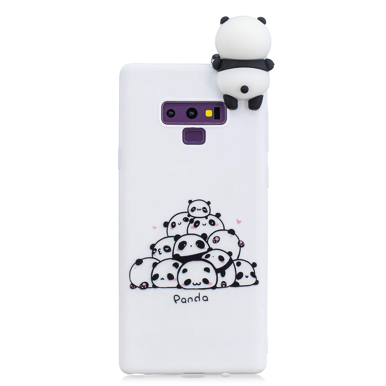 HopMore 3D Schutzh/ülle f/ür Samsung Galaxy Note 9 H/ülle Silikon Tier Panda Einhorn Muster Bumper Design Ultra D/ünn Slim Handyh/ülle One Piece Silikonh/ülle Case Cover f/ür Samsung Note 9 Hund