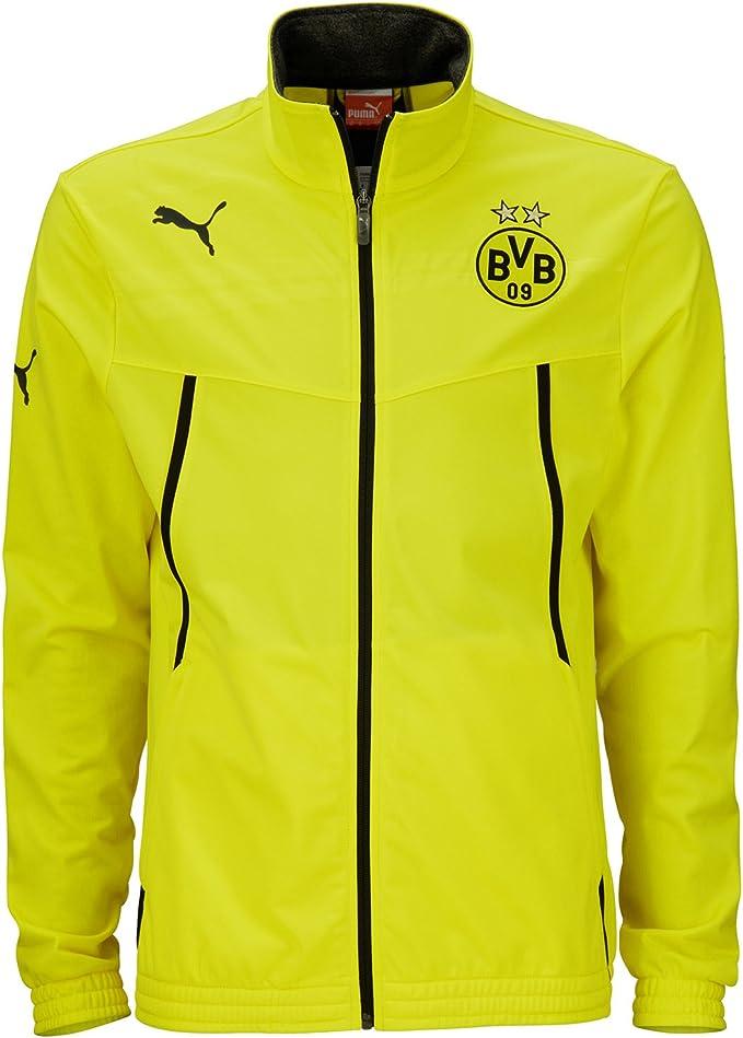 PUMA 2013-14 Borussia Dortmund Poly Jacket (Yellow)