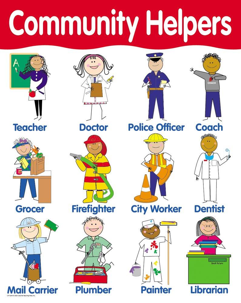 Community Helpers - A WebQuest for Preschoolers | Create ...
