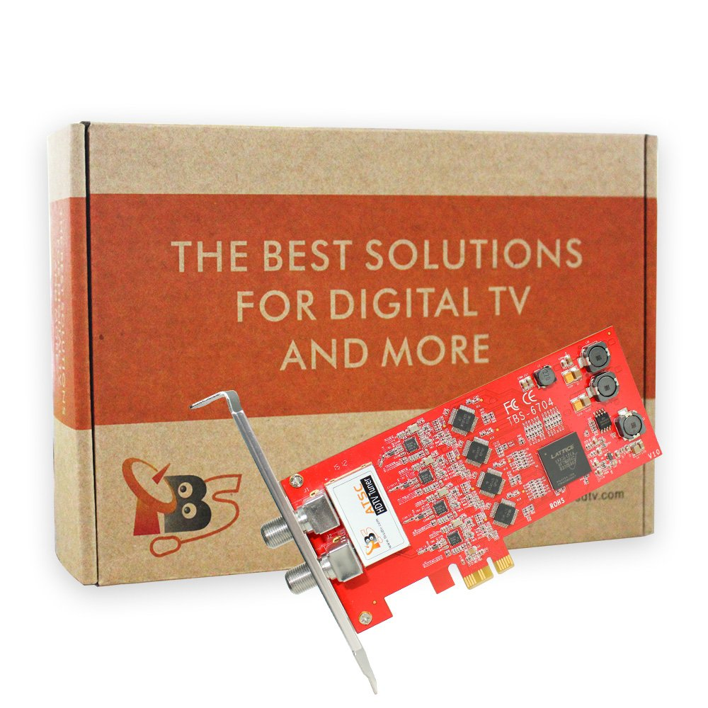TBS6704 ATSC/ Clear QAM Quad Tuner PCIe Card for IPTV Server by TBS (Image #6)