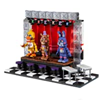McFarlane Toys 25230-9 Five Nights at Freddy's Deluxe Concert Stage Large Construction Set
