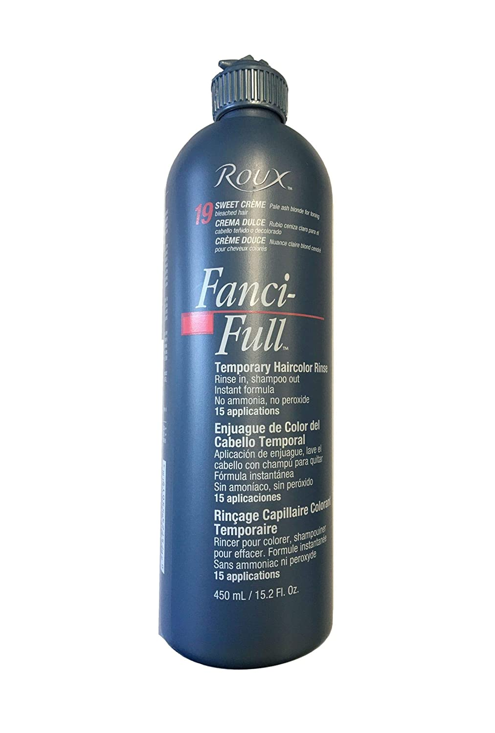 Roux Fanci-full Rinse #19 Sweet Cream 15.2 oz (Packaging May Vary)