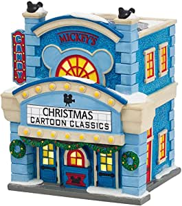 Amazon.com: Dept 56 Disney Christmas Village 'Mickeys