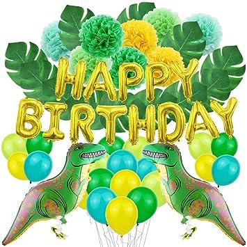 JOTOM Decoración para Fiestas Globos Accesorios Decoración de Cumpleaños Globos de Papel de Aluminio y Globos de Confeti Suministros para Fiestas de ...