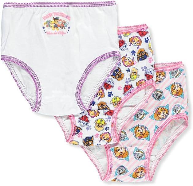 NEW Toddler Boys Nickeloeon Paw Patrol 3 Pack Cotton Brief Underwear Size 2T-3T