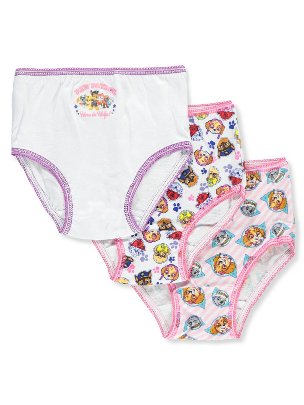 Nickelodeon Paw Patrol Toddler Girl's 3 Pack Girls Underwear Panties