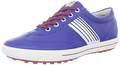 5d2d6527ee1a2 ECCO Women's Golf Street Sport Golf Shoe,Mazarine Blue/Brick,40 EU/