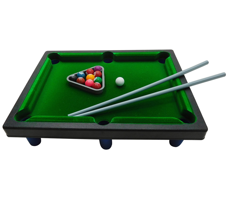 Mozlly Tabletop Pool Table Billiard Game Kids Sports - Sports Theme - Item #101339