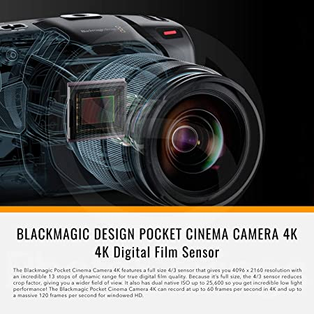Blackmagic Design - Photo Savings BMD-CINECAMPOCHDMFT4K product image 2