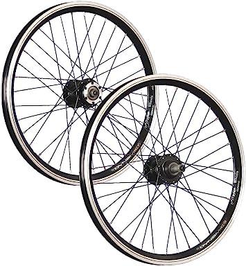 Taylor-Wheels 20 Pulgadas Juego Ruedas Bici Grünert Doble Pared ...