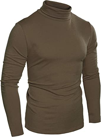 SportsX Mens Classic Soft Basic Loose Fit Comfort Knit Sweater Blouse