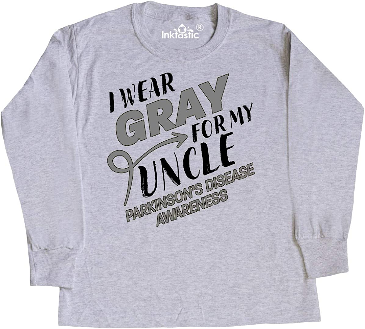Parkinsons Disease Awareness Baby T-Shirt inktastic I Wear Gray for My Mom