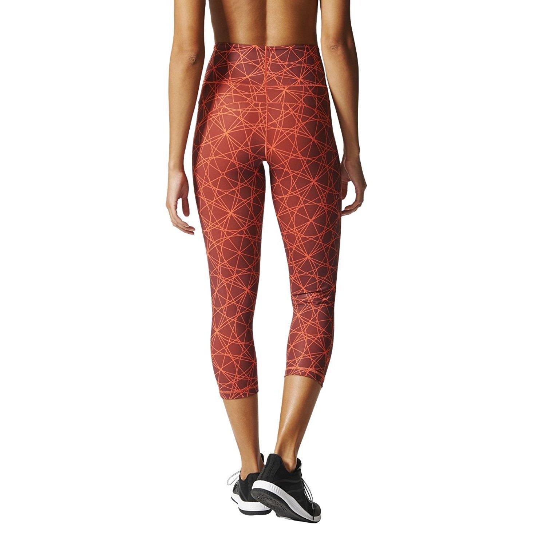 adidas Womens Yoga Wanderflex Iconic Three-Quarter Tights