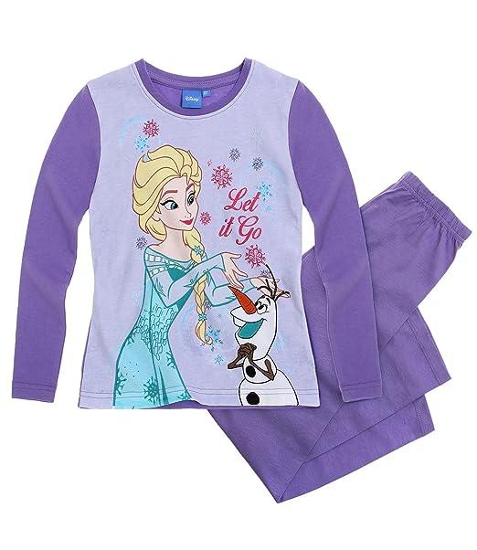 Disney El reino del hielo Chicas Pijama - malva - 116