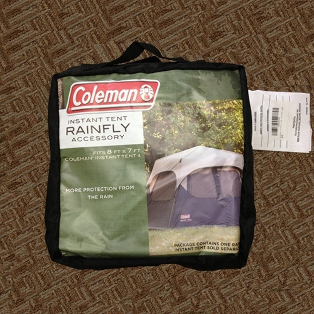 Amazon.com  Coleman 4-Person Instant Tent Rainfly Accessory  Family Tents  Sports u0026 Outdoors & Amazon.com : Coleman 4-Person Instant Tent Rainfly Accessory ...