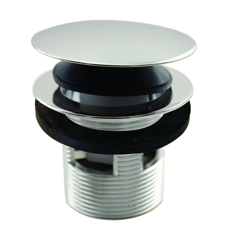 Matte Black Westbrass Tip-Toe Integrated Overflow Bath Drain D98R-62