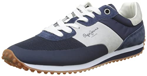 Mens Garret Sailor Trainers Pepe Jeans London Y144aLIZ