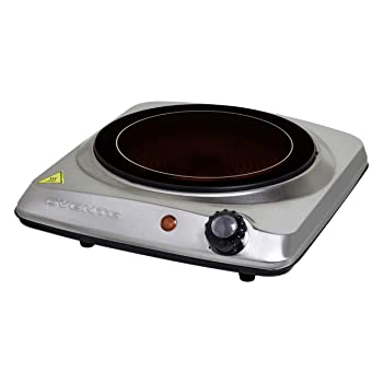 Ovente BGI101S Portable Electric Stove