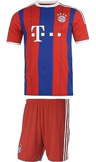 381b409e9 Bayern Munich Soccer Jersey Kids Home Short Sleeve Kit Shorts Gift Set Youth  Sizes