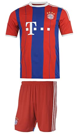 finest selection f0158 99d8e Bayern Munich Soccer Jersey Kids Home Short Sleeve Kit ...