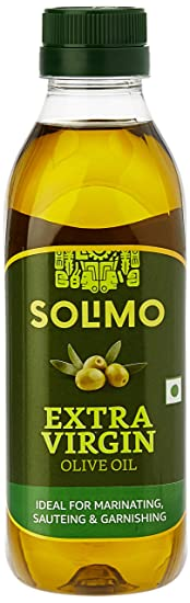 Amazon Brand - Solimo Extra Virgin Olive Oil, 500ml