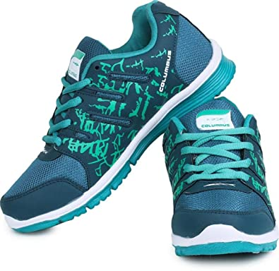 Green Color Sport Shoes
