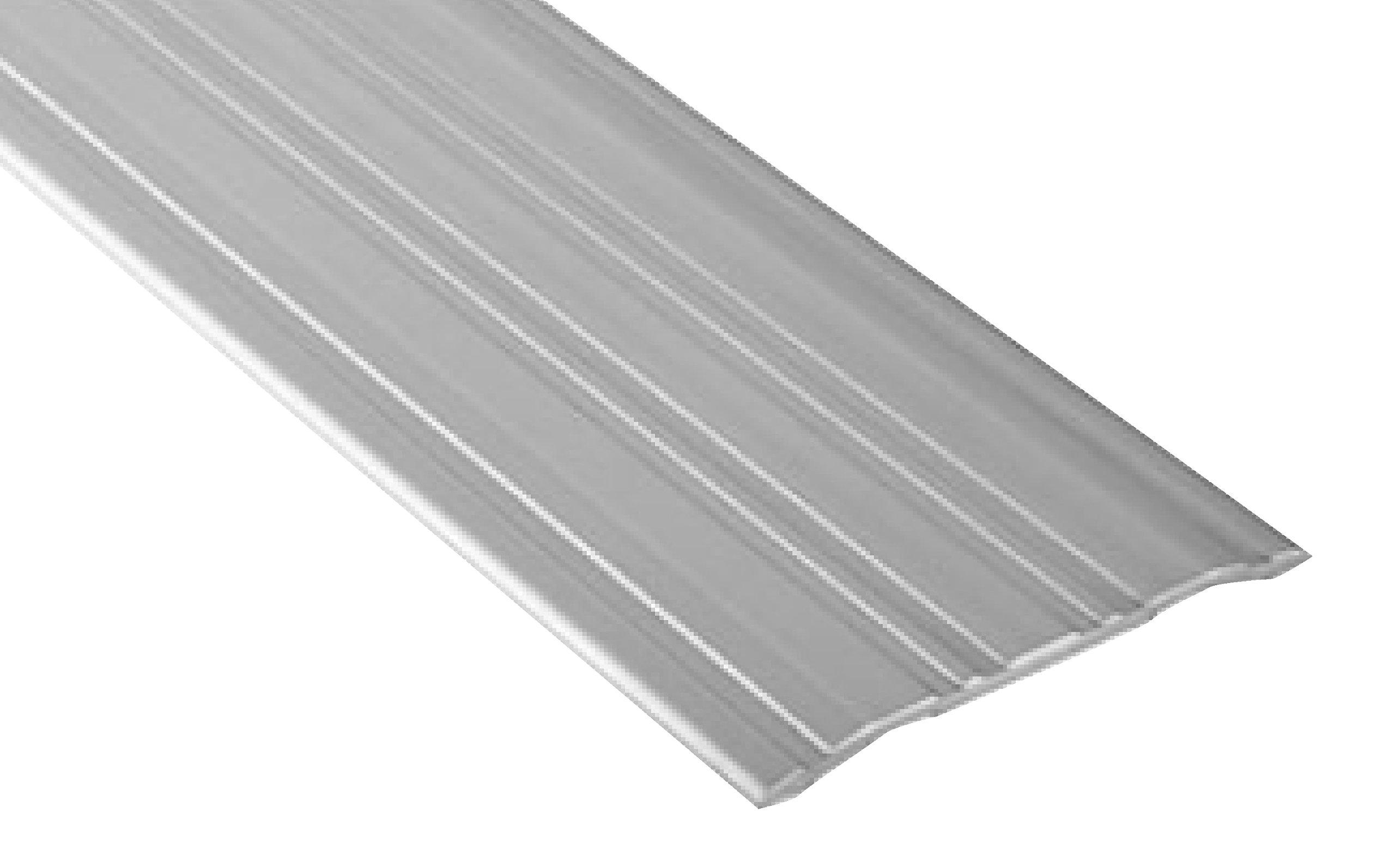 Pemko 085604 270A72 Saddle Threshold, Mill Finish Aluminum, 4'' width, 72'' Length, Aluminum