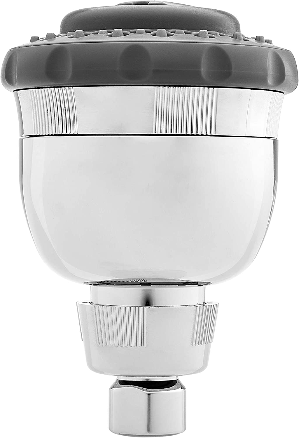 Basics Hand Held Chrome Shower Filter System with Massage Equivalent to Culligan HSH-C135