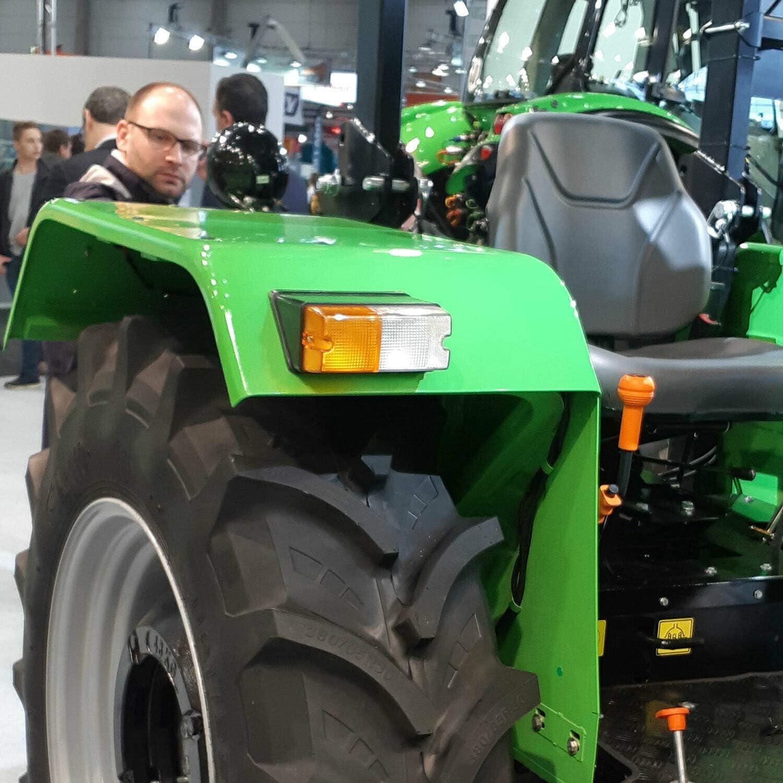 L/ámpara de luz delantera para tractor est/ándar juego de 2