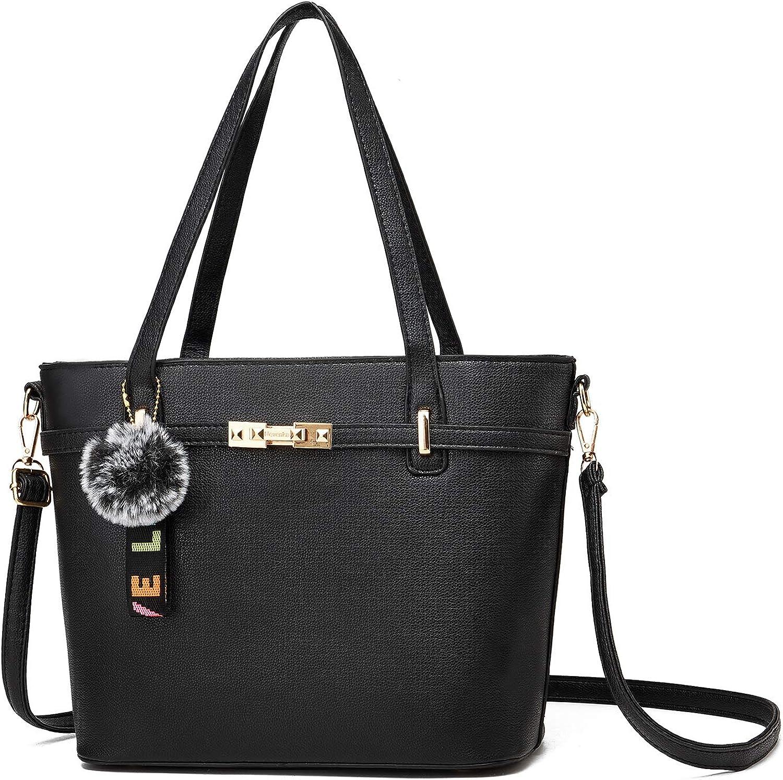 Nevenka Top Handle Handbags for Women PU Leather Tote Purse Lady Crossbody Shoulder Bags