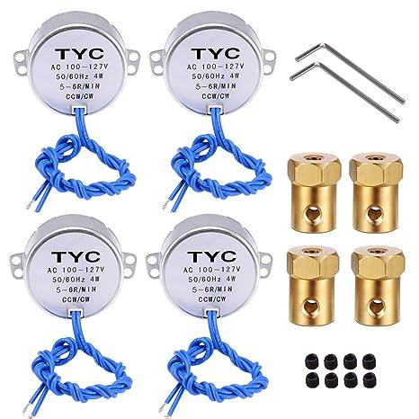 Amazon.com: 4 piezas de motor de sincronización de motor de ...