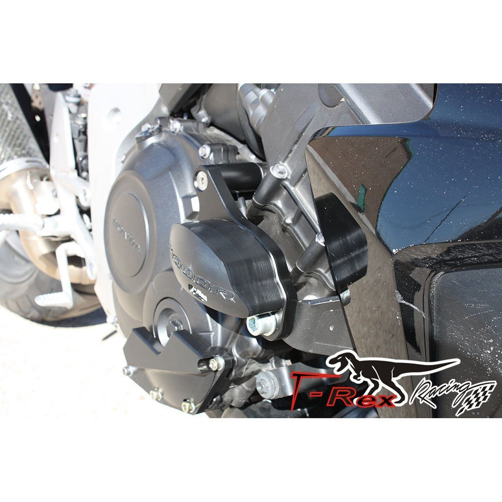 T-Rex Racing 2011-2019 Honda CB1000R No Cut Frame Front /& Rear Axle Sliders Case Covers