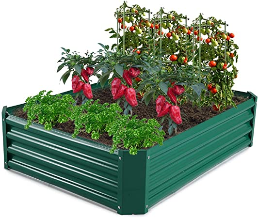 Succulent Flower Vertical Elevated Outdoor Planter Box For