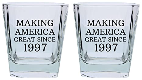 21st Birthday Gifts For Brother Sister Making America Great Since 1978 Party Supplies Square