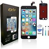 HYS-Tech for For 4.7インチ iphone6 液晶パネル交換 iphone 6 交換修理用フロントパネル フロントガラス・液晶・デジタイザ(タッチパネル)一体化の高品質修理交換用フロント液晶パネル 修理工具付き (黑) (4.7インチ)