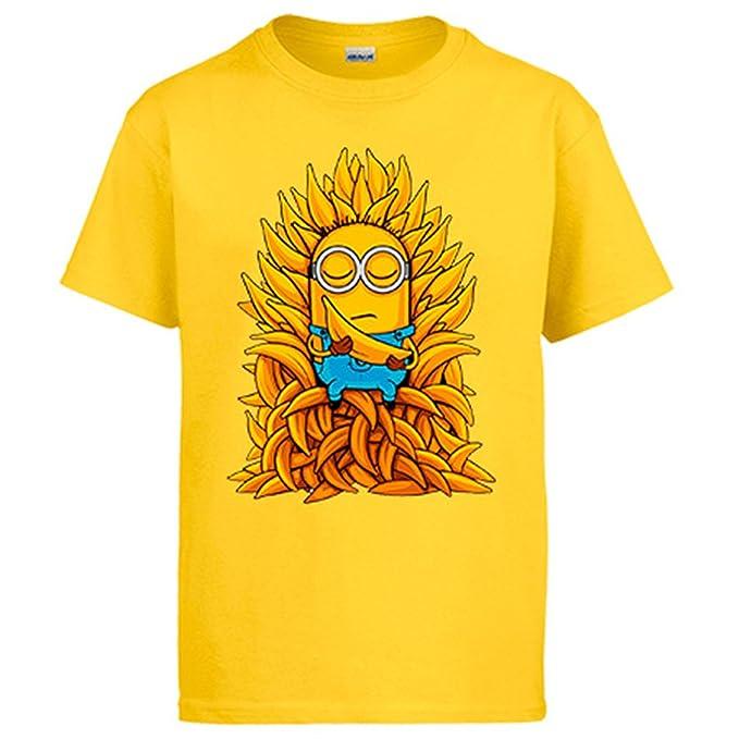 Diver Camisetas Camiseta Juego de Tronos Banana Minion: Amazon.es: Ropa y accesorios