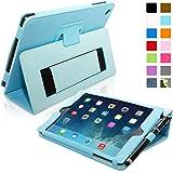 iPad Mini Case, Snugg™ Grey Leather Smart Case Cover with Flip Stand [Lifetime Guarantee] Auto Wake & Sleep For Apple iPad Mini 1 & 2 Retina