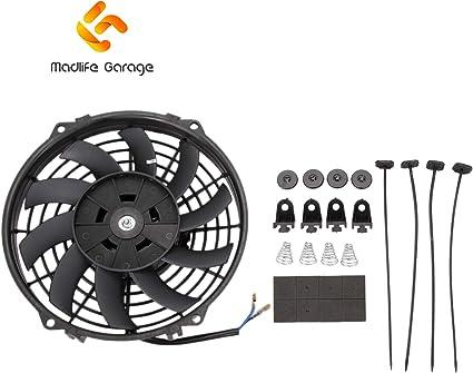 Madlife Garage ventilador de refrigeración de motor de 9 pulgadas ...