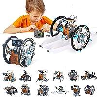 BOZTX 12-in-1 STEM Education DIY Solar Robot Toys Building Science Kits for Kids 10-12 Years Old Boys Birthday for 8 9…